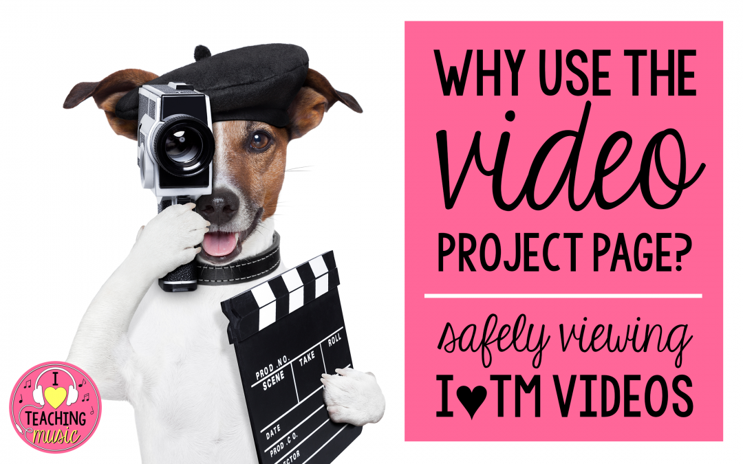 why use the video project page?