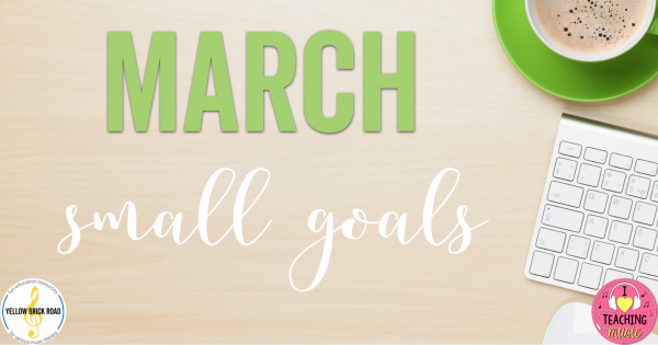 Small Goals: March 2017